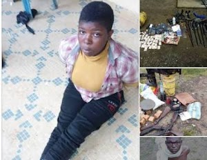 Luck Runs Out Of Male & Female Robbers That Always Invincible During Robbery Operations(Photos)
