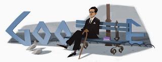 Doodles por el 120 aniversario del nacimiento de César Vallejo