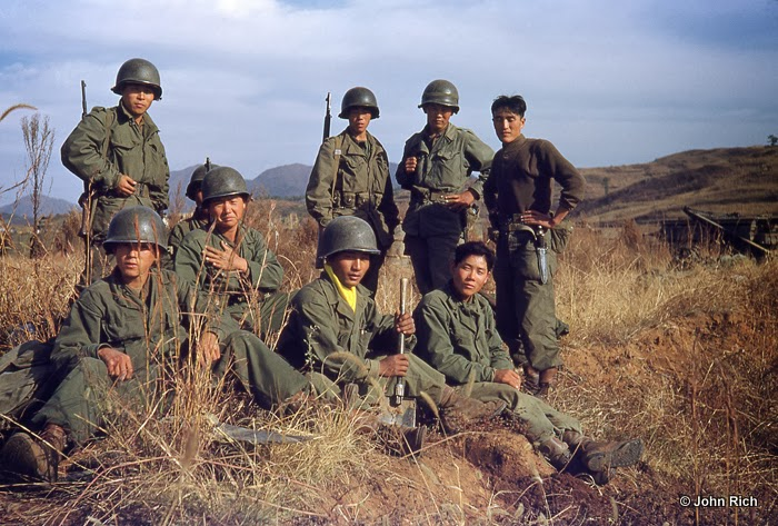 Color Photographs Of Korean War In The 1950 S Vintage