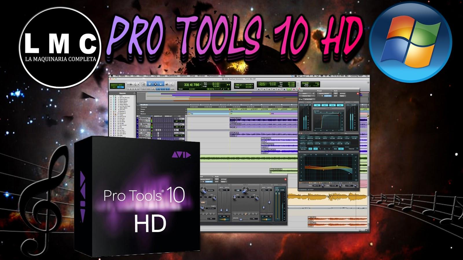 descargar pro tools 10 full