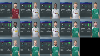 PES 2019 Bundesliga Faces for PTE Patch 2019 2.1 by Hawke