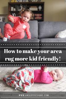Kid Friendly Grey and White Modern Boho Area Rug!
