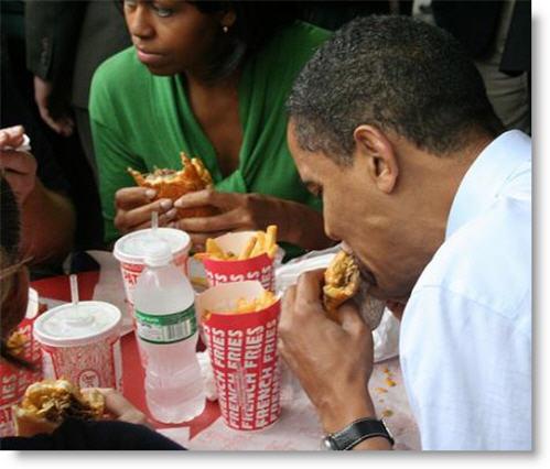 Reaganite Independent: Gluttonous Hypocrite Michelle Obama ...