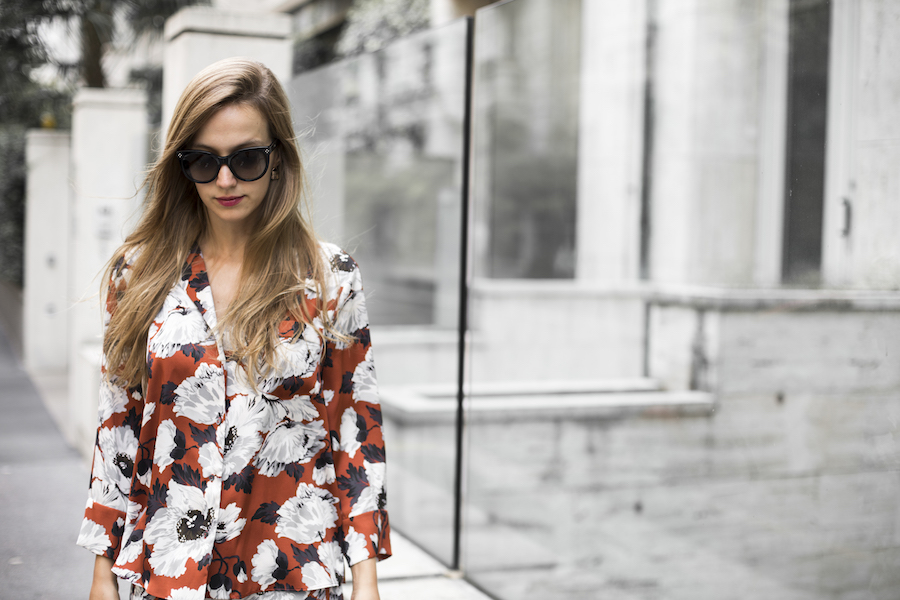 fashion blogger in milan