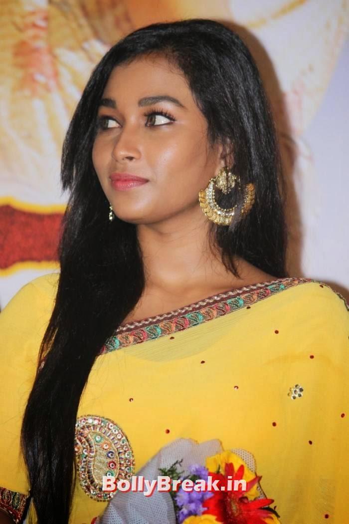 Swathi Stills, Kollywood Actress Swathi hot Pics in yellow Saree