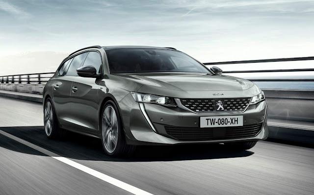 Novo Peugeot 508 SW 2019
