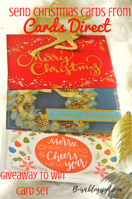 Send Christmas Cards from Cards Direct {GIveaway}