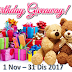 BIRTHDAY GIVEAWAY NOVEMBER