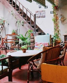 vintage cafe in melaka
