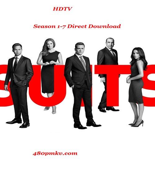 Suits Season 1-7 HDTV Download 480p & 720p thumbnail