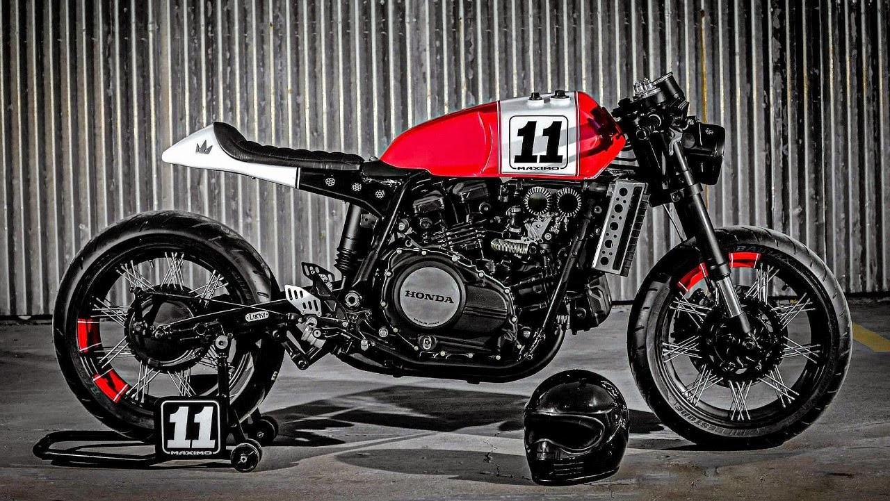 """maximo#11 honda#caferacer"""" - rocketgarage - cafe racer magazine"""