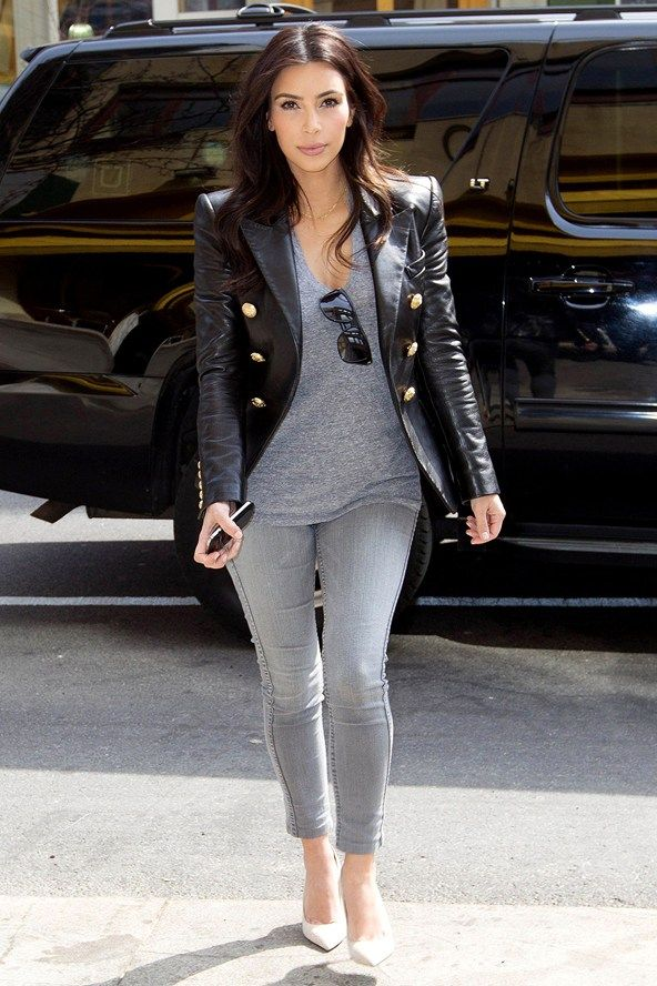 Celebrity street style kim kardashian west the kara edit Fashion celebrity street style