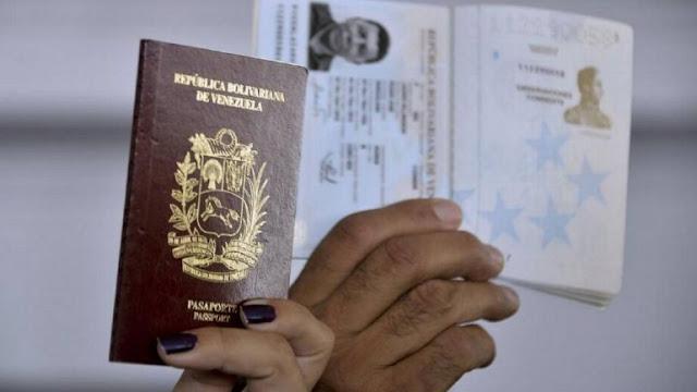 """Parlamento pide a Grupo de Lima """"prorrogar"""" vigencia a pasaportes venezolanos"""