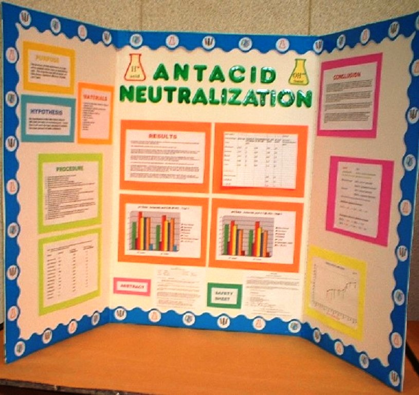 Science Fair Projects Display Boards on Fifth Grade Science Fair Projects