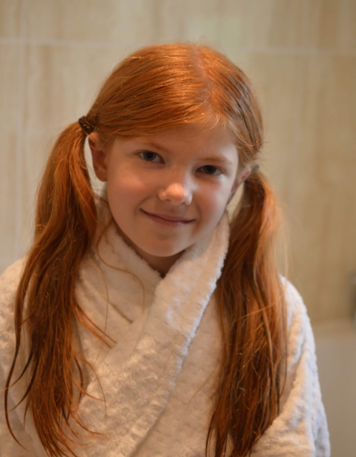 A Luxury Family Staycation at Rockliffe Hall Hotel  - kids' bathrobes