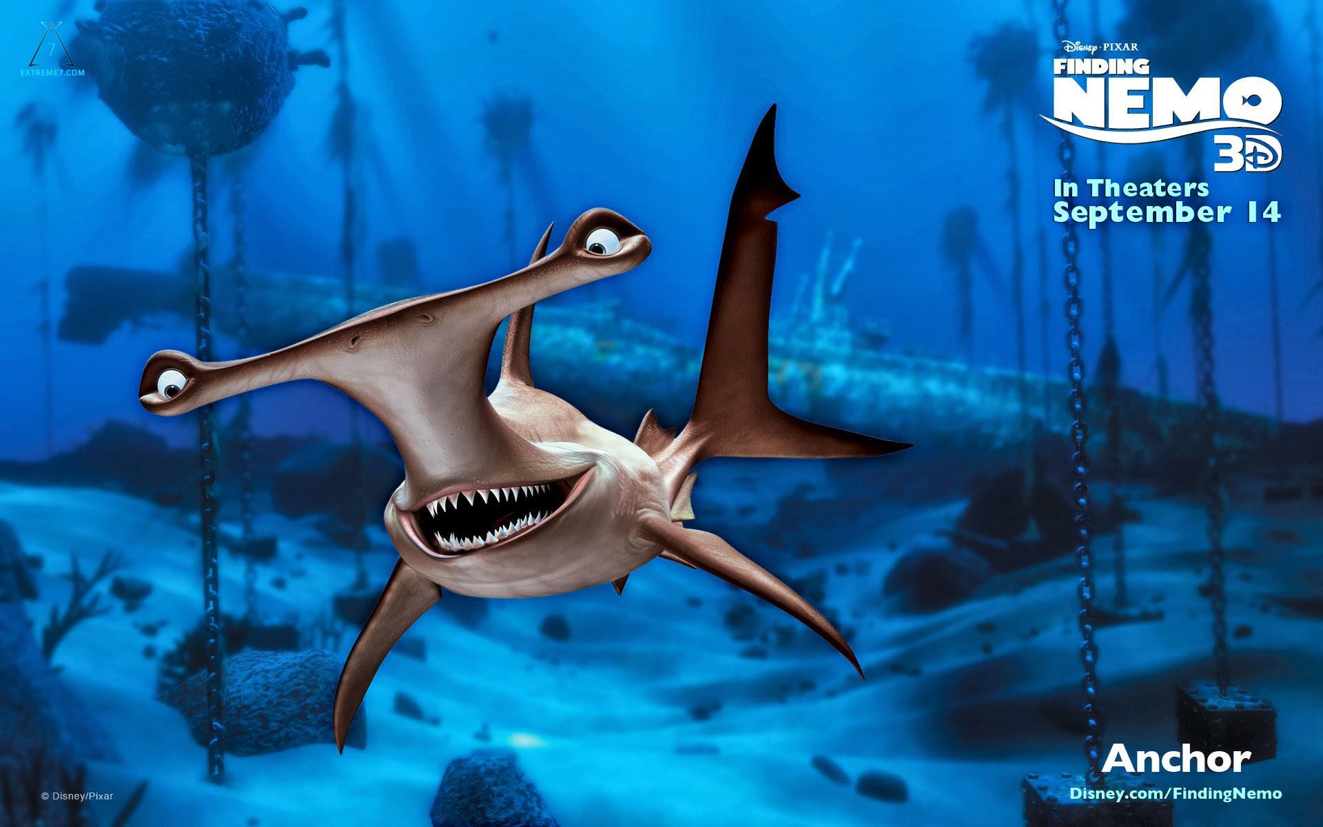 Finding Nemo D Animasi Hd Wallpaper: Finding Nemo 3D Official Wallpapers