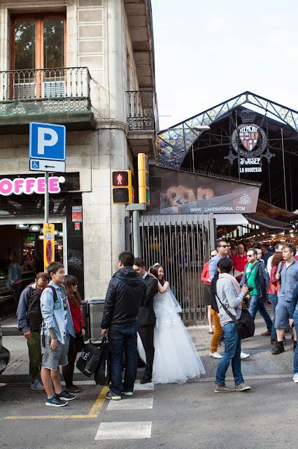 Mercato La Boqueria-Barcellona