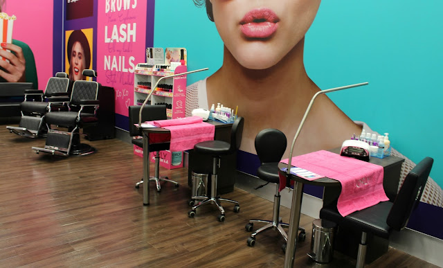 superdrug, superdrug edge lane, beauty station, nails, brow threading