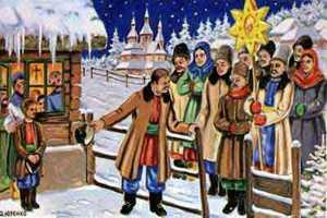 Во время празднования Рождества послушать традиционные колядк