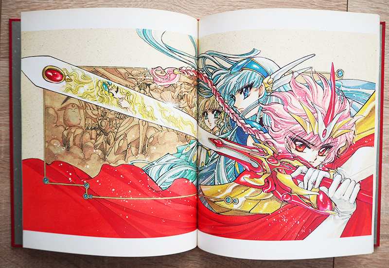 magic knight rayearth 2 illustrations collection clamp