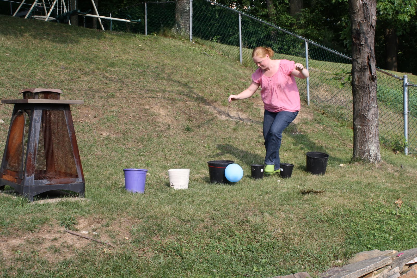 Pencils, Proverbs, Pandemonium, & Pins: Backyard Obstacle ...