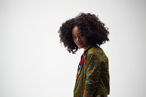 Solange ELLE south AFrica wearing African Designers