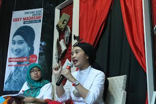 Novelis Okky Madasari Mudik Magetan