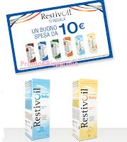 Logo Restivoil ti regala buoni spesa da 10 euro