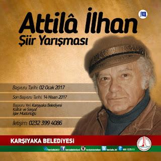 Attila İlhan Şiir Yarışması 2017 Başvuruları