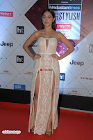 Nushrat Bharucha Looks stunning in a deep neck leg Split cream designer gown stunning beauty ~  Exclusive 010.JPG