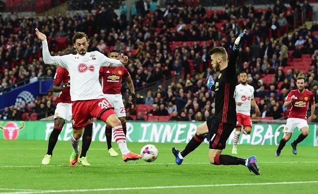 اهداف مباراة مانشستر يونايتد وساوثهامتون اليوم بتاريخ 30-12-2017 الدوري الانجليزي