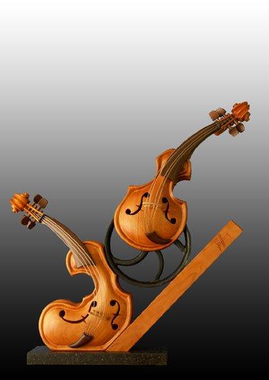 Philippe Guillerm 1959 Musical Sculptures Tutt Art