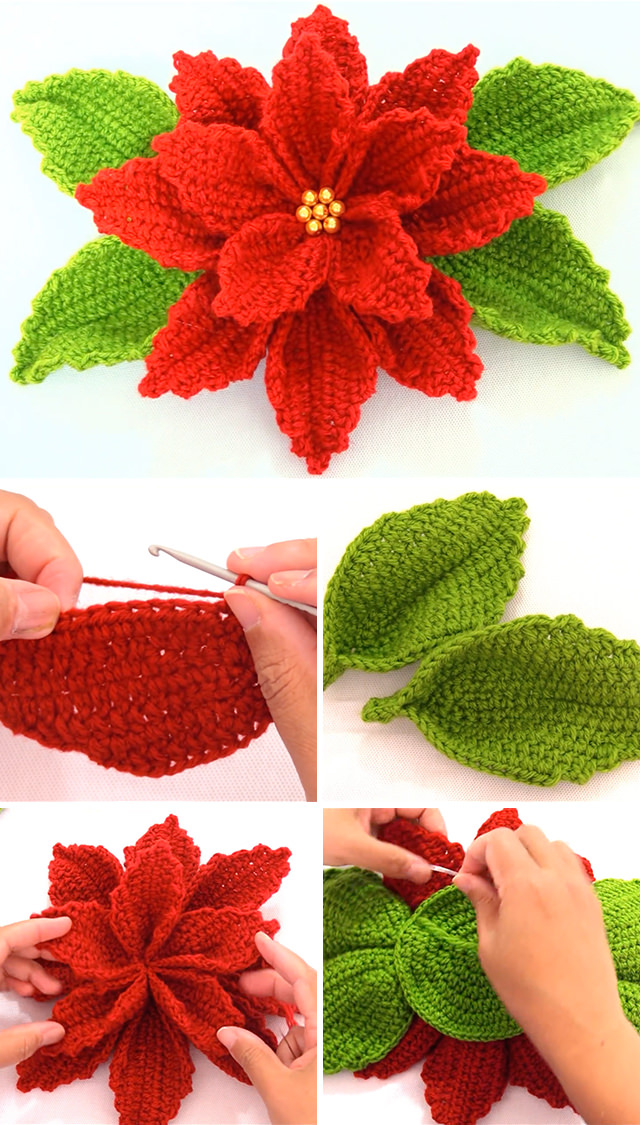 Albero Natale Uncinetto Tutorial - Christmas tree Crochet - Arbol ... | 1125x640