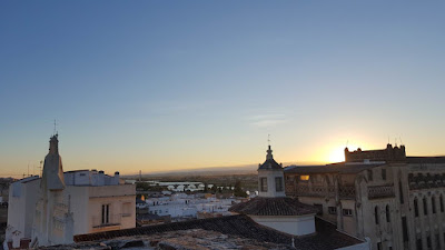 bits and pieces from our summer vacation - Badajoz