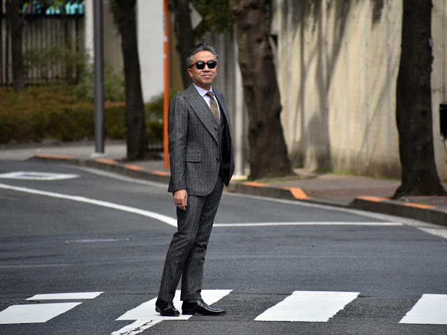40代のメンズ スーツ スタイル