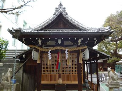 天神社豊光神社拝殿