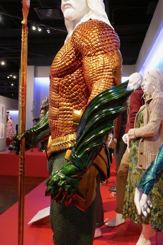 Aquaman movie costume detail
