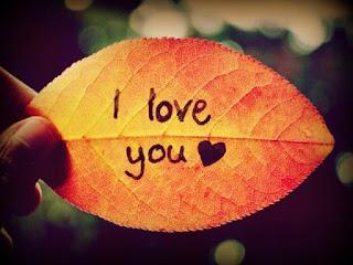 """كلمة """"أحبك"""""""