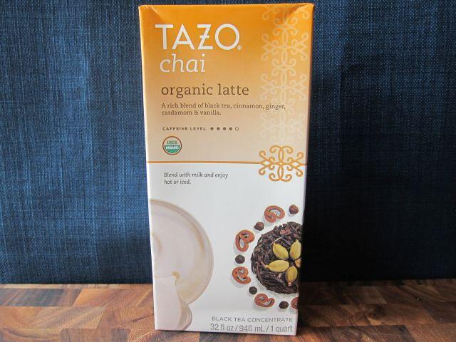 Review Tazo Organic Chai Latte Brand Eating