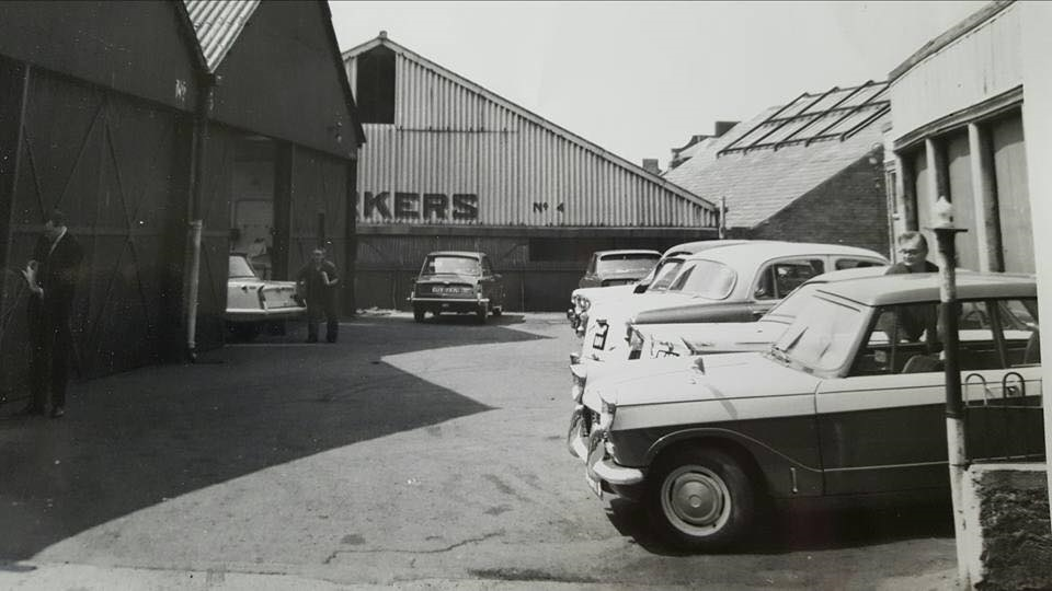 Vitessesteve Blog P W Barker Ltd Of Worcester Triumph Car