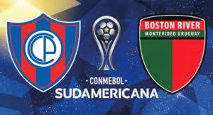 Cerro Porteño vs Boston River en Copa Sudamericana 2017