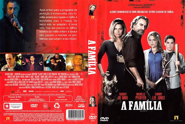 Capa DVD A Família
