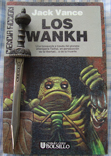 Portada del libro Los Wankh, de Jack Vance