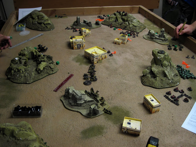 The Ork board has been considerably cleared out.