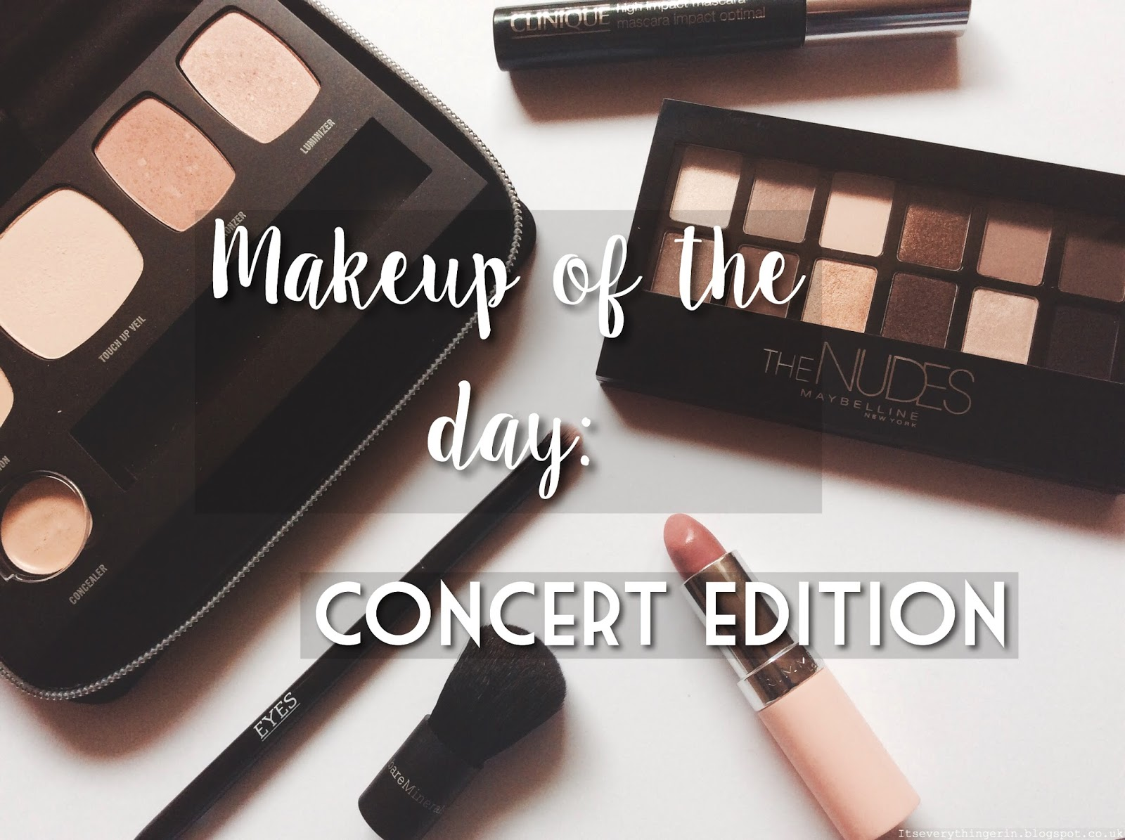 Makeup of the day: concert edition