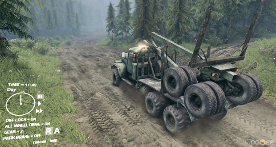 Game PC Spintires Full Version