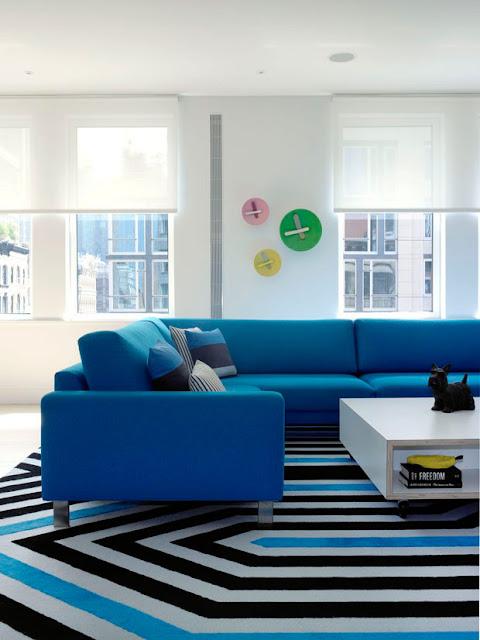Los colores de Nueva York en un loft / Ghislaine Viñas