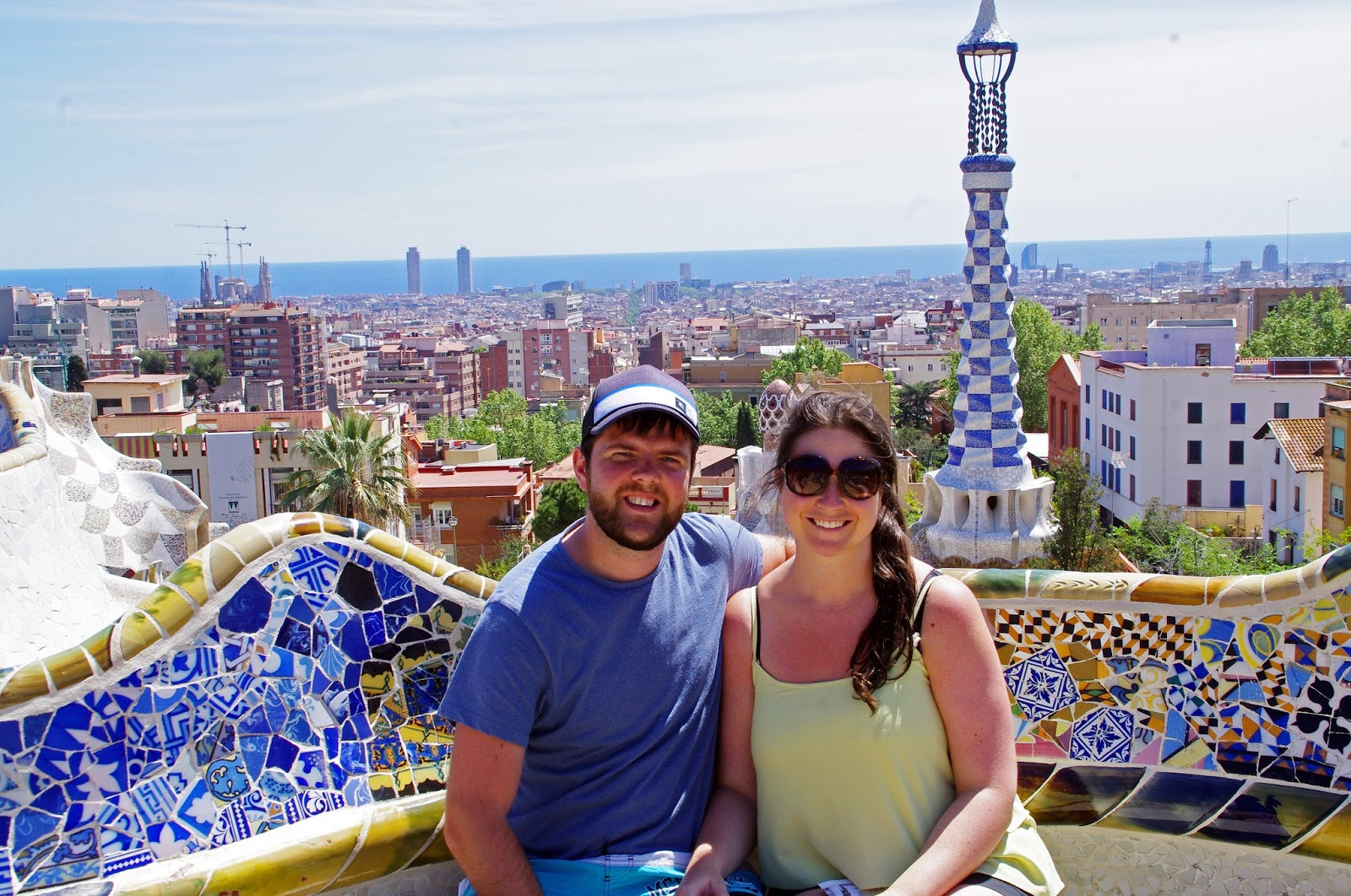 Couple at Park Guell
