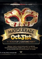 W Masquerade Hollywood Halloween