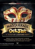 W Masquerade Hollywood Halloween